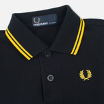 Детское поло Fred Perry My First Shirt Black/New Yellow фото- 2