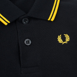 Детское поло Fred Perry My First Shirt Black/New Yellow фото- 3