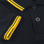 Детское поло Fred Perry My First Shirt Black/New Yellow фото- 4