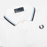 Fred Perry My First Childrens Polo White photo- 2
