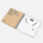 Fred Perry My First Childrens Polo White photo- 0