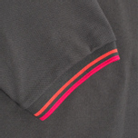 Мужское поло Fred Perry Laurel Japanese Tipped Anthracite фото- 3