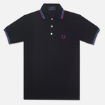 Fred Perry Laurel Japanese Tipped Polo Black photo- 0