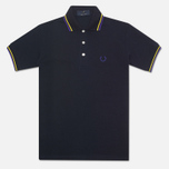 Fred Perry Laurel Japanese Tipped Polo Navy photo- 0