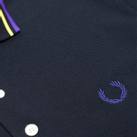 Мужское поло Fred Perry Laurel Japanese Tipped Navy фото- 2