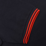 Fred Perry Laurel M12 Twin Tipped Polo Navy/Red photo- 3