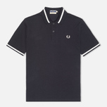Мужское поло Fred Perry Laurel M2 Single Tipped Navy фото- 0