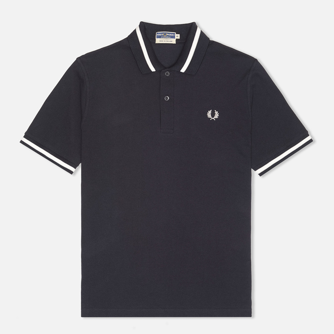 Мужское поло Fred Perry Laurel M2 Single Tipped Navy