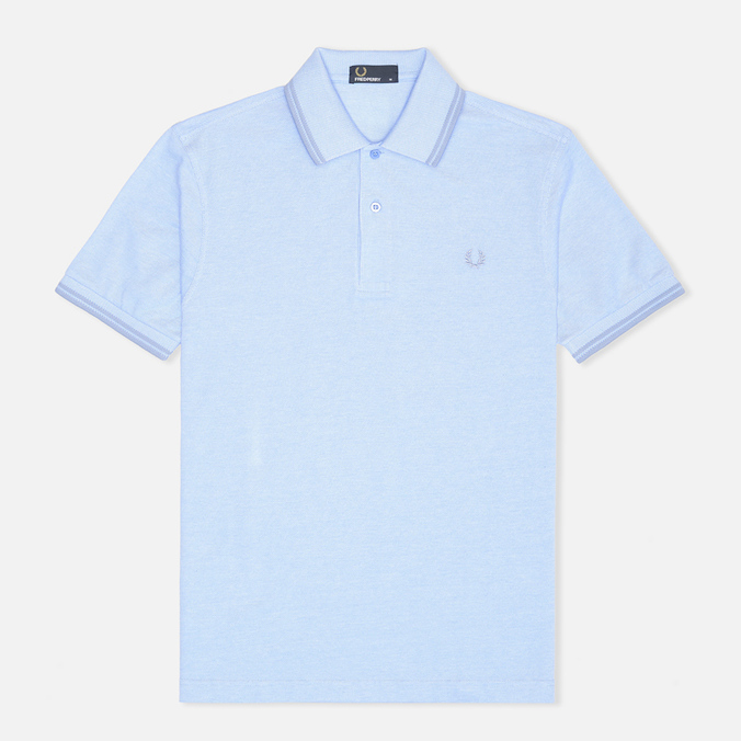 Мужское поло Fred Perry M1200 Twin Tipped Blue