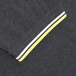 Мужское поло Fred Perry M1200 Twin Tipped Charcoal Marl фото- 3