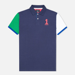 Hackett NBR Multi Men's Polo Navy/Blue/Green photo- 0