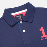 Hackett NBR Multi Men's Polo Navy/Blue/Green photo- 1