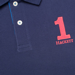 Hackett NBR Multi Men's Polo Navy/Blue/Green photo- 2