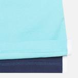 Мужское поло Hackett NBR Multi Turquoise/Navy/Blue фото- 5