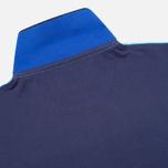 Мужское поло Hackett NBR Multi Turquoise/Navy/Blue фото- 3