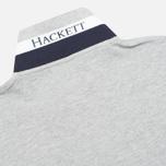 Мужское поло Hackett New Classic Light Grey Marl фото- 3