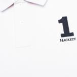 Мужское поло Hackett New Classic White фото- 2