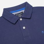 Мужское поло Hackett Tailored Logo Blue фото- 1