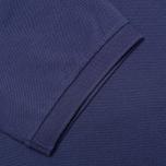 Мужское поло Hackett Tailored Logo Blue фото- 4