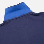 Мужское поло Hackett Tailored Logo Blue фото- 3