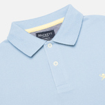 Hackett Tailored Logo Polo Oxford Blue photo- 1