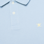 Hackett Tailored Logo Polo Oxford Blue photo- 2