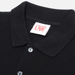 Мужское поло Lacoste Live Short Sleeve Black фото- 1