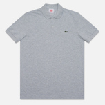 Lacoste Live Short Sleeve Polo Grey photo- 0