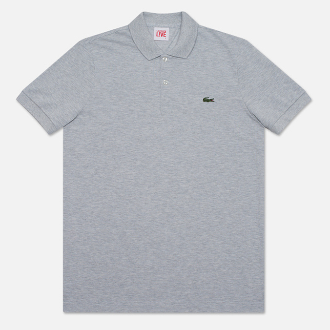 Lacoste Live Short Sleeve Polo Grey