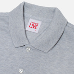 Lacoste Live Short Sleeve Polo Grey photo- 1