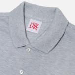 Мужское поло Lacoste Live Short Sleeve Grey фото- 1