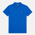 Мужское поло Lyle & Scott Plain Pique French Navy фото- 0