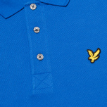 Мужское поло Lyle & Scott Plain Pique French Navy фото- 2