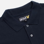 Мужское поло Lyle & Scott Plain Pique New Navy фото- 1