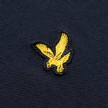 Мужское поло Lyle & Scott Plain Pique New Navy фото- 2