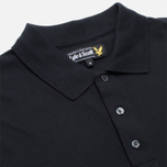 Мужское поло Lyle & Scott Plain Pique True Black фото- 1