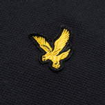 Мужское поло Lyle & Scott Plain Pique True Black фото- 2