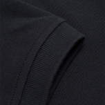 Мужское поло Lyle & Scott Plain Pique True Black фото- 3