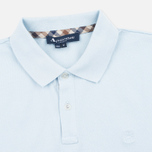 Aquascutum Hilton Cotton Men's Polo Light Blue photo- 1