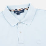 Мужское поло Aquascutum Hilton Cotton Light Blue фото- 1