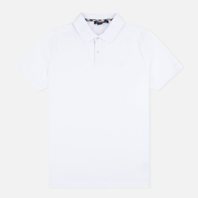 Мужское поло Aquascutum Hilton Cotton White