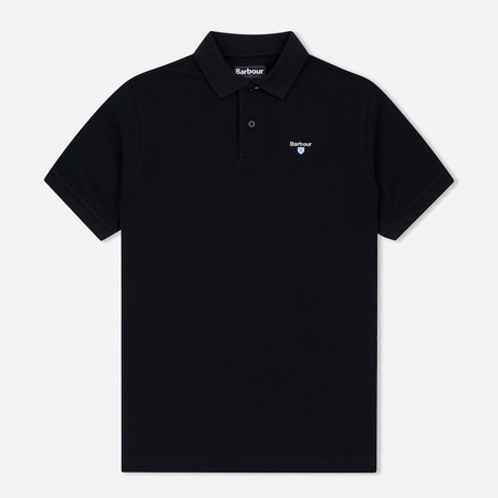 Barbour Sports Men's Polo Black