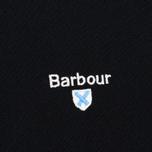 Мужское поло Barbour Sports Black фото- 2