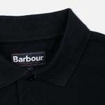 Мужское поло Barbour Sports Black фото- 3