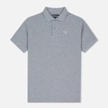 Barbour Sports Men's Polo Grey Marl photo- 0