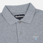 Barbour Sports Men's Polo Grey Marl photo- 1