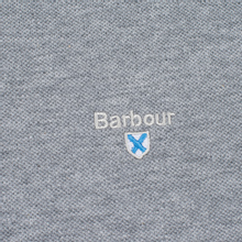 Мужское поло Barbour Sports Grey Marl фото- 2