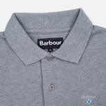 Barbour Sports Men's Polo Grey Marl photo- 3