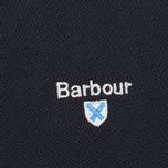 Мужское поло Barbour Sports Navy фото- 2