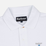 Мужское поло Barbour Sports White фото- 1